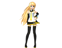 Project Diva Arcade Future Tone Future Style Rin by WeFede