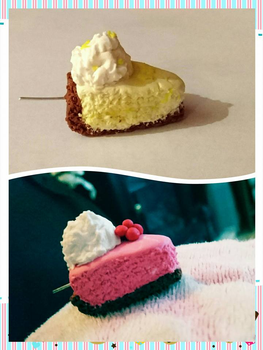 Miniture cheesecakes. by shannon77