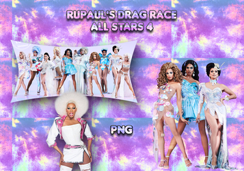 RuPAul's Drag Race - All Stars 4 PNG by YuDelRey