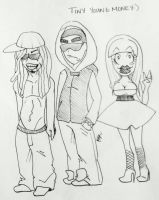 Itty Bitty Rappers by PriestessPandora