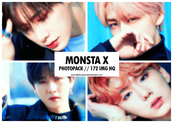 Monsta X - photopack #12 by butcherplains