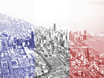 Patriotic Chicago by annaleahy