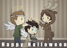 Not so Supernatural Halloween by Mousu