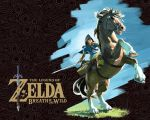 The Legend of Zelda: Breath of the Wild Wallpaper by MarioMinecraftMix