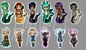 ADOPTABLES Mixed ((Closed!!)) by Ethelbutt