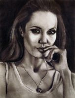Angelina Jolie v1 by Art-by-Jilani
