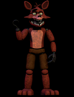 Unwithered FoxyV2 [Blender FNaF] by TRAWERT