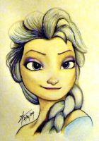 Elsa from Frozen by PandorasBox341