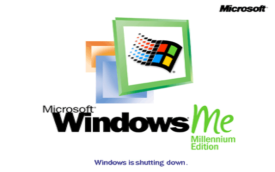 Windows ME (2000) Shutdown Screen by MalekMasoud