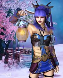 Lantern's Light in Winter's Cold by RavenMoonDesigns
