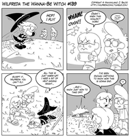 Wilfreda the Wanna-Be Witch e139 by megawackymax