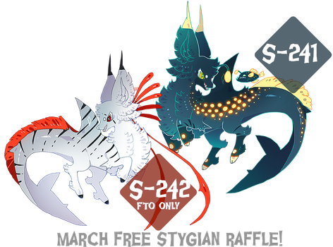 { Free 24H Stygian raffle! } Over, thank you! by Zoomutt