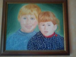 Me and  my brother by Midori-ossan