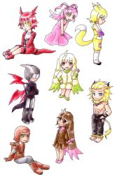 Digimon Tamers by nya-nannu