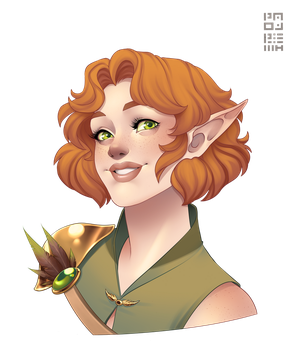 Commission - Mellitas by PaolaPieretti