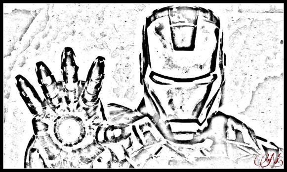 Iron Man by Proserpinae