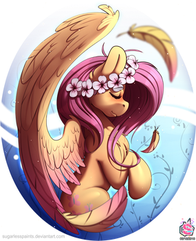 Moar Flutters!! D: by SugarlessPaints