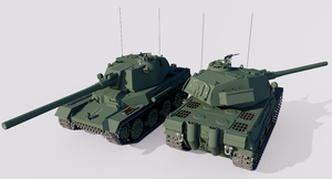 Typ V Schneide Medium Tank by TheoComm