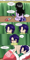 Chibi Athrun's Bedtime by Prince-in-Disguise