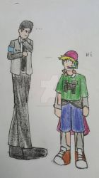 connor meet my oc ivan (just for fun 15) by sonickthecat