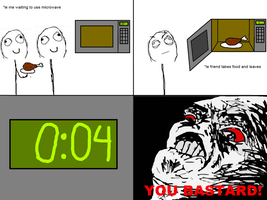 Microwave rage comic by Quinn21C