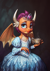 Dragon and the Dress by AssasinMonkey
