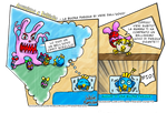Pollitalia Adventure: Happy Easter is Easter eggs by VictorHoreau
