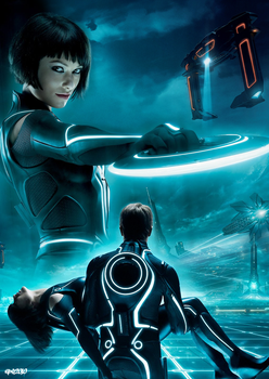 TRON: Legacy Quorra special by elclon