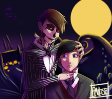 Halloween Town Dan and Phil by Emolise