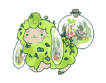 terrarium flufferbun by irlnya