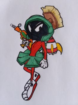 05. Marvin the Martian by Tiera-The-Yordle