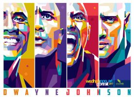Dwayne Johnson WPAP by opparudy
