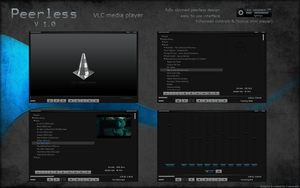 Peerless VLC media player by X-Generator