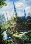 Native planet in future by Vilenchik