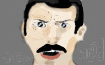 Freddie Mercury by JECSTER21