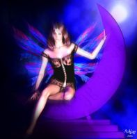 Feathered Moon... by ashlyn