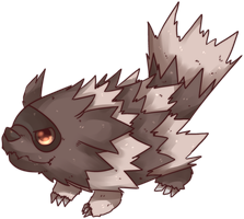 Jiguzaguma | Zigzagoon Commission