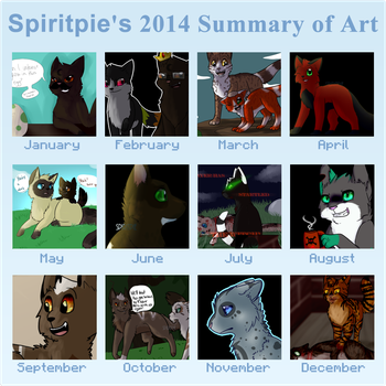 2014 Summary of Art by Spiritpie