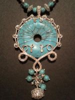 Pendant for Turquoise necklace by CrafterGod