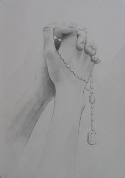 Hands: prayer by bldred