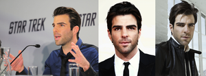 Zachary Quinto Cover Photo by ahandgesture