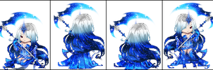 Blue Reaper (closed) by This-adopt-account