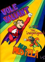 Vole Valiant by RandomCushing