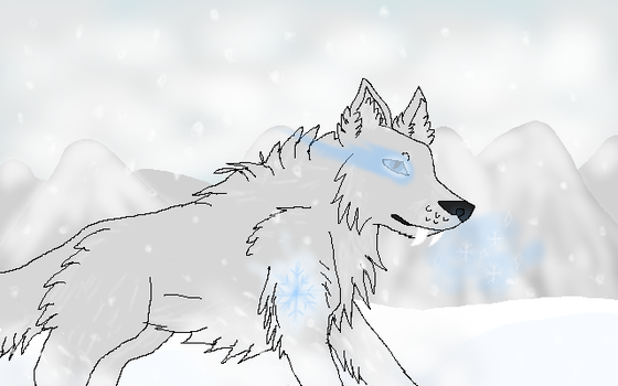 Frost Wolf by Erick-the-Druid