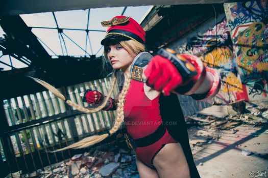 Cammy Bison cosplay from Street Fighter by LadySundae