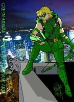 Green Arrow by Inspector97