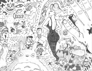 Doodle 2012 by srfive3
