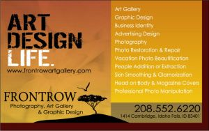 Front Row Ad by jsgraphix