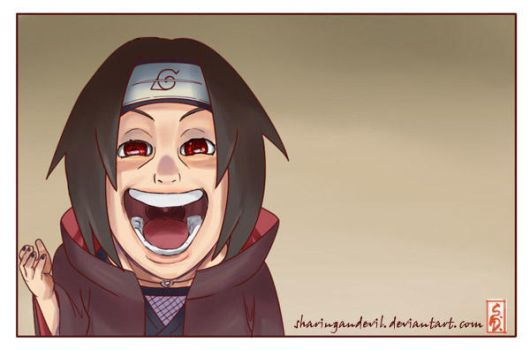 PSYCHO ITACHI BANNER by sharingandevil