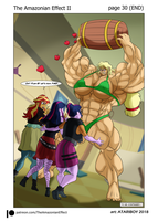 The Amazonian Effect II Page 30. (END) by Atariboy2600